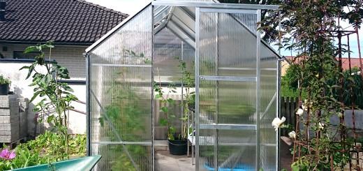 Växthus klart