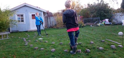 Barnarbete i dungen