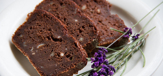 Squashkaka med choklad