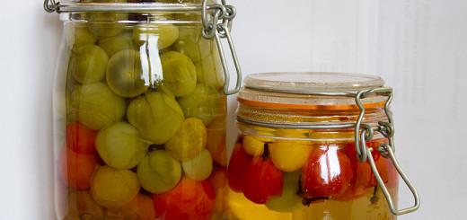 Syltade gröna tomater recept