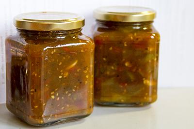 Tomat-chutney recept