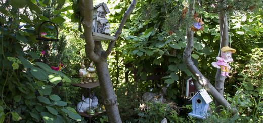 1000 trädgårdar trädgårdspynt