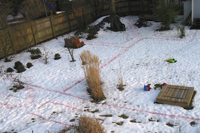 Trädgårdsplan 2006-1
