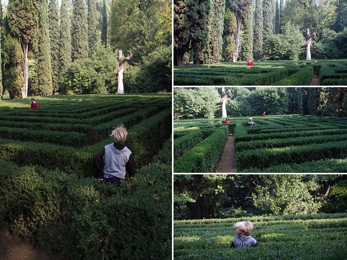 Labyrint 4 bilder